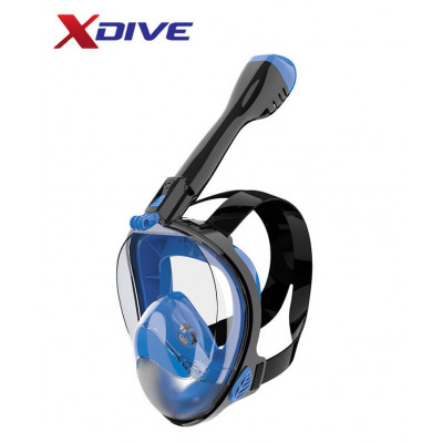 XDive Mask CRYSTAL FULL FACE Blue