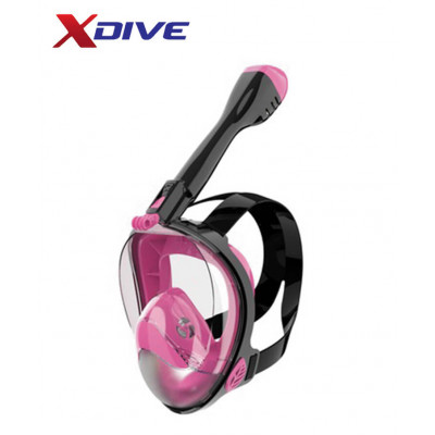 XDive Mask CRYSTAL FULL FACE Pink