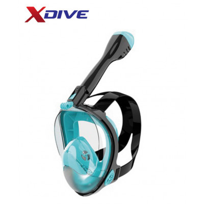 XDive Mask CRYSTAL FULL FACE Turquoise