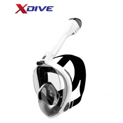 XDive Mask CRYSTAL FULL FACE White