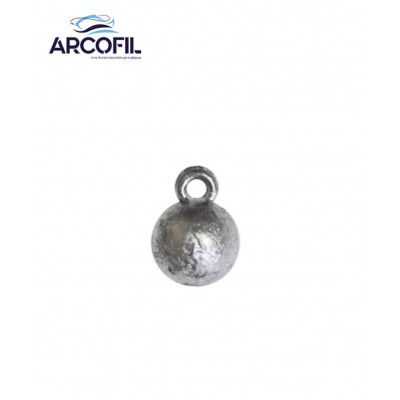 Ball shaped sinker