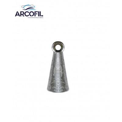 Bell shaped sinker