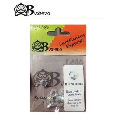 Bushido Swarovski crystal beads