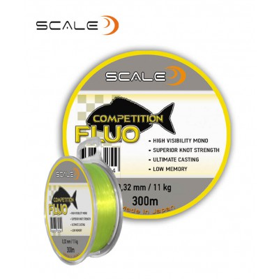 Fishing line Scale Fluo competition - 300m
