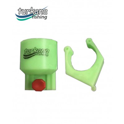 Cups for sand rod holder